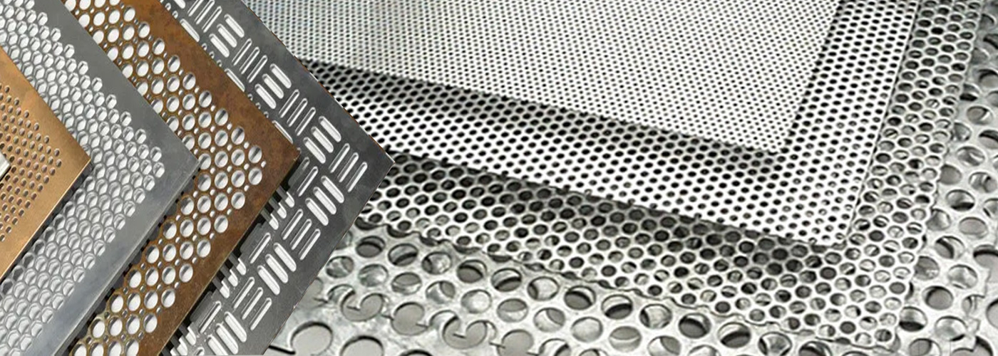 Metal Perforated Sheets, Expanded Metal